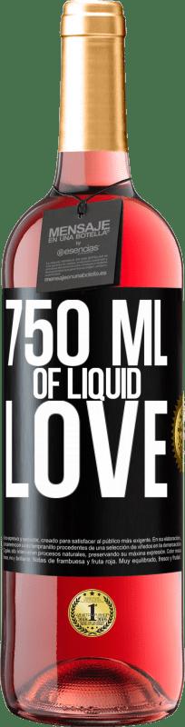 24,95 € Free Shipping | Rosé Wine ROSÉ Edition 750 ml of liquid love Black Label. Customizable label Young wine Harvest 2020 Tempranillo