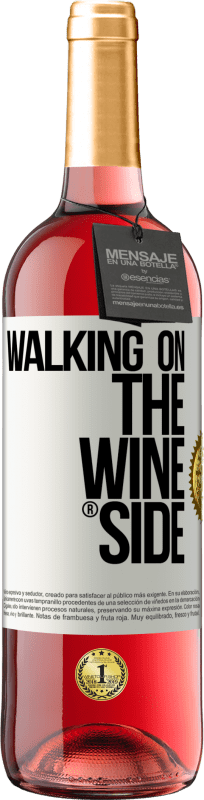 29,95 € Free Shipping | Rosé Wine ROSÉ Edition Walking on the Wine Side® White Label. Customizable label D.O. Cigales Young wine Harvest 2020 Spain Tempranillo