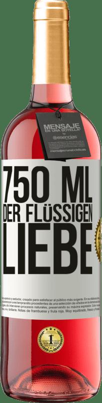 24,95 € Kostenloser Versand | Roséwein ROSÉ Ausgabe 750 ml der flüssigen Liebe Weißes Etikett. Anpassbares Etikett Junger Wein Ernte 2020 Tempranillo