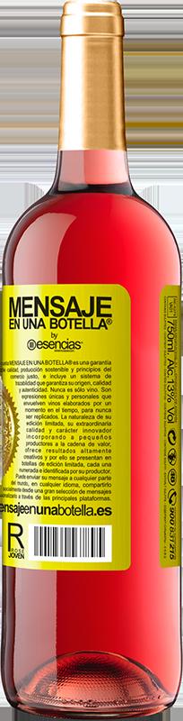 24,95 € Kostenloser Versand   Roséwein ROSÉ Ausgabe Walking on the Wine Side® Gelbes Etikett. Anpassbares Etikett Junger Wein Ernte 2020 Tempranillo