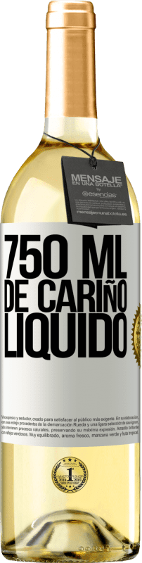 29,95 € Free Shipping | White Wine WHITE Edition 750 ml of liquid love White Label. Customizable label Young wine Harvest 2020 Verdejo