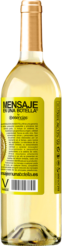 18,95 € Free Shipping | White Wine Walking on the Wine Side® Yellow Label. Customized label D.O. Rueda Young wine Harvest 2019 Spain Verdejo