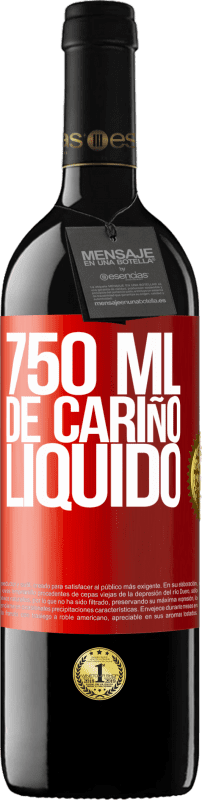 29,95 € Free Shipping | Red Wine RED Edition Crianza 6 Months 750 ml of liquid love Red Label. Customizable label Aging in oak barrels 6 Months Harvest 2018 Tempranillo