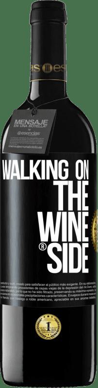 29,95 € Free Shipping | Red Wine RED Edition Crianza 6 Months Walking on the Wine Side® Black Label. Customizable label I.G.P. Vino de la Tierra de Castilla y León Aging in oak barrels 6 Months Harvest 2018 Spain Tempranillo