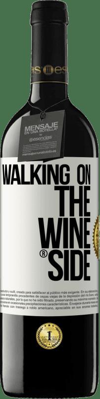 29,95 € Free Shipping | Red Wine RED Edition Crianza 6 Months Walking on the Wine Side® White Label. Customizable label I.G.P. Vino de la Tierra de Castilla y León Aging in oak barrels 6 Months Harvest 2018 Spain Tempranillo