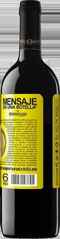24,95 € Kostenloser Versand | Rotwein RED Ausgabe Crianza 6 Monate Walking on the Wine Side® Gelbes Etikett. Anpassbares Etikett Ausbau in Eichenfässern 6 Monate Ernte 2018 Tempranillo
