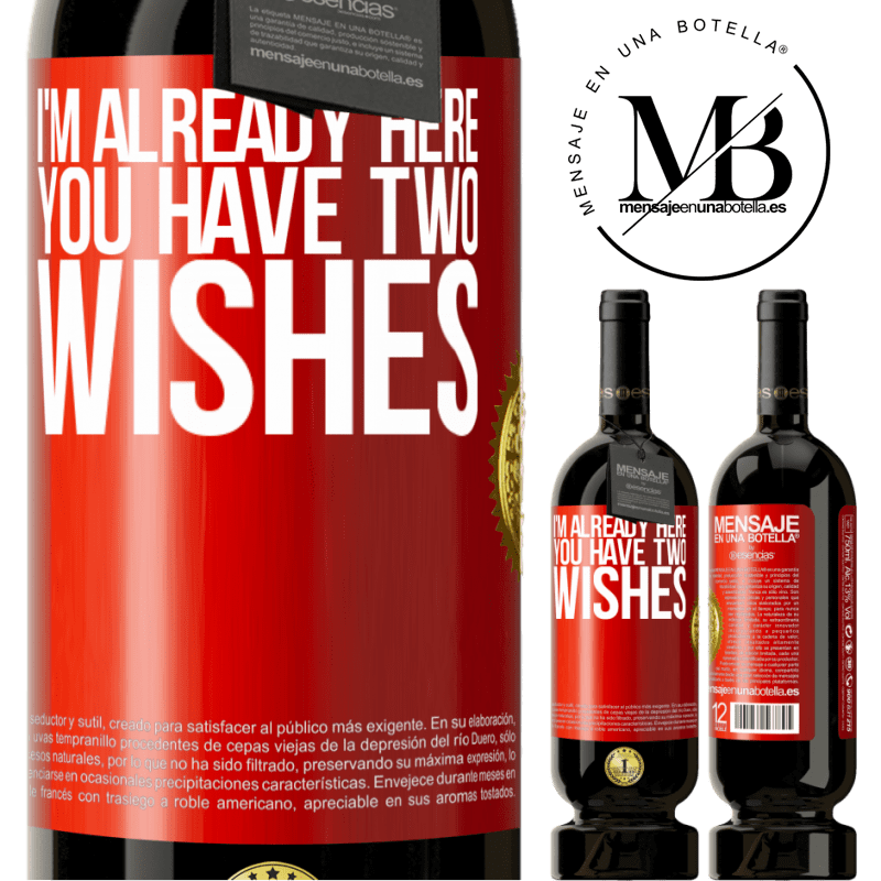 29,95 € Free Shipping | Red Wine Premium Edition MBS® Reserva I'm already here. You have two wishes Red Label. Customizable label Reserva 12 Months Harvest 2013 Tempranillo