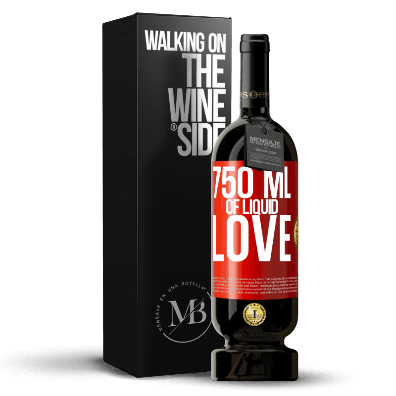 29,95 € Free Shipping | Red Wine Premium Edition MBS® Reserva 750 ml of liquid love Red Label. Customizable label Reserva 12 Months Harvest 2013 Tempranillo
