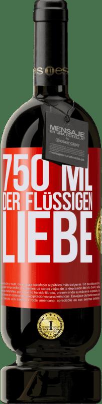29,95 € Kostenloser Versand | Rotwein Premium Edition MBS® Reserva 750 ml der flüssigen Liebe Rote Markierung. Anpassbares Etikett Reserva 12 Monate Ernte 2013 Tempranillo