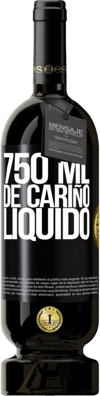 35,95 € Free Shipping | Red Wine Premium Edition MBS® Reserva 750 ml of liquid love Black Label. Customizable label Reserva 12 Months Harvest 2013 Tempranillo