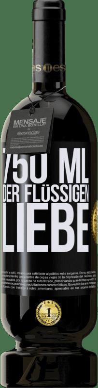 29,95 € Kostenloser Versand | Rotwein Premium Edition MBS® Reserva 750 ml der flüssigen Liebe Schwarzes Etikett. Anpassbares Etikett Reserva 12 Monate Ernte 2013 Tempranillo
