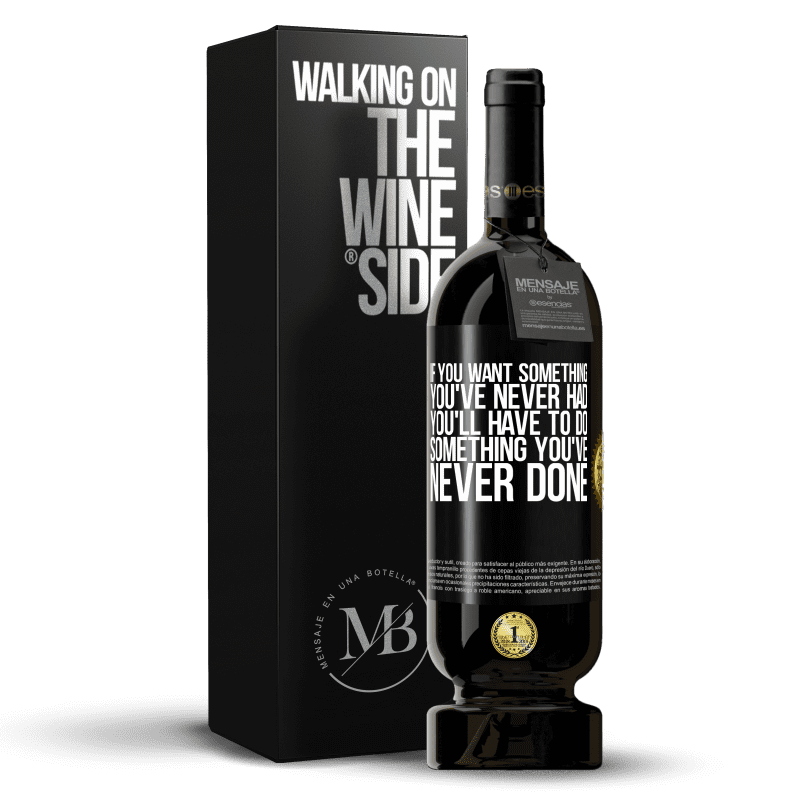 29,95 € Free Shipping   Red Wine Premium Edition MBS® Reserva If you want something you've never had, you'll have to do something you've never done Black Label. Customizable label Reserva 12 Months Harvest 2013 Tempranillo