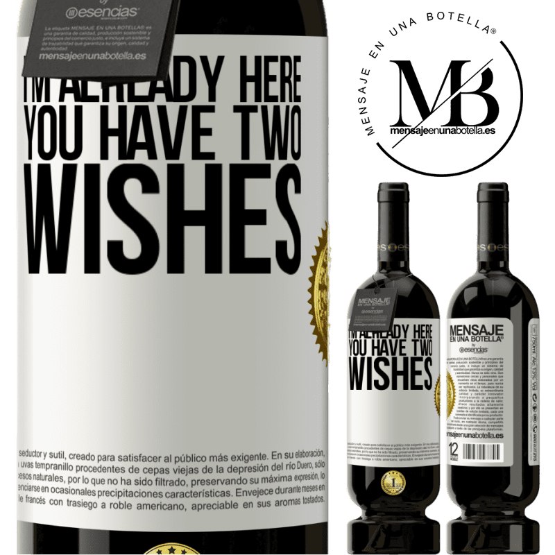 29,95 € Free Shipping | Red Wine Premium Edition MBS® Reserva I'm already here. You have two wishes White Label. Customizable label Reserva 12 Months Harvest 2013 Tempranillo