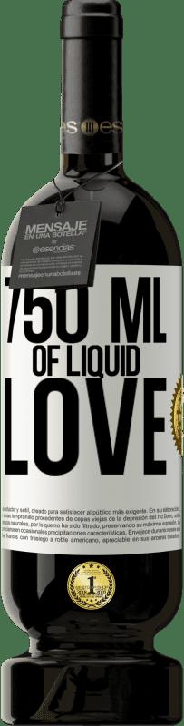 29,95 € Free Shipping | Red Wine Premium Edition MBS® Reserva 750 ml of liquid love White Label. Customizable label Reserva 12 Months Harvest 2013 Tempranillo