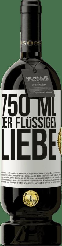 29,95 € Kostenloser Versand | Rotwein Premium Edition MBS® Reserva 750 ml der flüssigen Liebe Weißes Etikett. Anpassbares Etikett Reserva 12 Monate Ernte 2013 Tempranillo