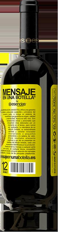 24,95 € Free Shipping | Red Wine Premium Edition RED MBS Walking on the Wine Side® Yellow Label. Customized label I.G.P. Vino de la Tierra de Castilla y León Aging in oak barrels 12 Months Harvest 2016 Spain Tempranillo