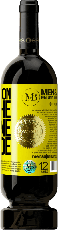 35,95 € Free Shipping   Red Wine Premium Edition MBS® Reserva Walking on the Wine Side® Yellow Label. Customizable label Reserva 12 Months Harvest 2013 Tempranillo