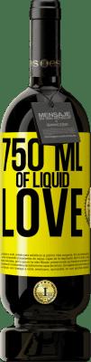 35,95 € Free Shipping | Red Wine Premium Edition MBS Reserva 750 ml of liquid love Yellow Label. Customizable label I.G.P. Vino de la Tierra de Castilla y León Aging in oak barrels 12 Months Harvest 2013 Spain Tempranillo