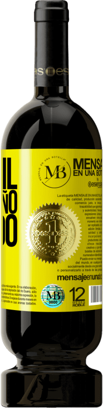 35,95 € Free Shipping | Red Wine Premium Edition MBS® Reserva 750 ml of liquid love Yellow Label. Customizable label Reserva 12 Months Harvest 2013 Tempranillo