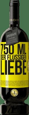 29,95 € Kostenloser Versand | Rotwein Premium Edition MBS® Reserva 750 ml der flüssigen Liebe Gelbes Etikett. Anpassbares Etikett Reserva 12 Monate Ernte 2013 Tempranillo