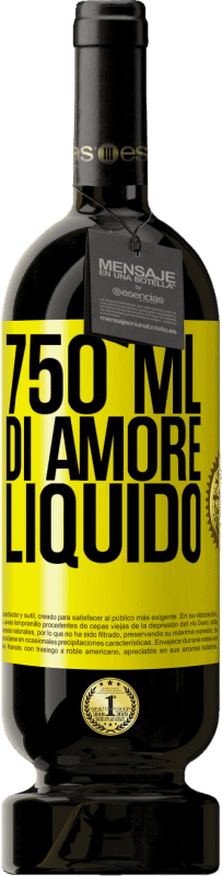29,95 € Spedizione Gratuita   Vino rosso Edizione Premium MBS® Reserva 750 ml di amore liquido Etichetta Gialla. Etichetta personalizzabile Reserva 12 Mesi Raccogliere 2013 Tempranillo