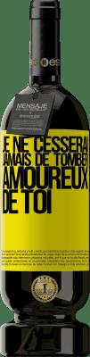 29,95 € Envoi gratuit   Vin rouge Édition Premium MBS® Reserva Je ne cesserai jamais de tomber amoureux de toi Étiquette Jaune. Étiquette personnalisable Reserva 12 Mois Récolte 2013 Tempranillo