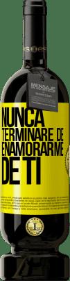 29,95 € Envío gratis   Vino Tinto Edición Premium MBS® Reserva Nunca terminaré de enamorarme de ti Etiqueta Amarilla. Etiqueta personalizable Reserva 12 Meses Cosecha 2013 Tempranillo