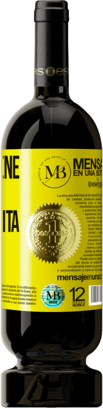 35,95 € Free Shipping | Red Wine Premium Edition MBS® Reserva Whoever has magic does not need tricks Yellow Label. Customizable label Reserva 12 Months Harvest 2013 Tempranillo