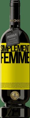 24,95 € Envoi gratuit   Vin rouge Édition Premium RED MBS Simplement femme Étiquette Jaune. Étiquette personnalisée I.G.P. Vino de la Tierra de Castilla y León Vieillissement en fûts de chêne 12 Mois Espagne Tempranillo