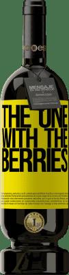 24,95 € Envoi gratuit | Vin rouge Édition Premium RED MBS The one with the berries Étiquette Jaune. Étiquette personnalisée I.G.P. Vino de la Tierra de Castilla y León Vieillissement en fûts de chêne 12 Mois Récolte 2016 Espagne Tempranillo