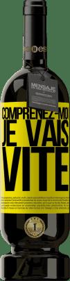 24,95 € Envoi gratuit | Vin rouge Édition Premium RED MBS Comprenez-moi, je vais vite Étiquette Jaune. Étiquette personnalisée I.G.P. Vino de la Tierra de Castilla y León Vieillissement en fûts de chêne 12 Mois Récolte 2016 Espagne Tempranillo