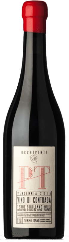 45,95 € Free Shipping | Red wine Arianna Occhipinti PT I.G.T. Terre Siciliane Sicily Italy Frappato Bottle 75 cl