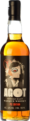 53,95 € Free Shipping   Whisky Single Malt Basque Moonshiners Agot Single Malt Basque Whisky Spain Bottle 70 cl