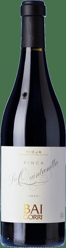 32,95 € Free Shipping   Red wine Baigorri Finca La Quintanilla Reserva D.O.Ca. Rioja The Rioja Spain Tempranillo Bottle 75 cl