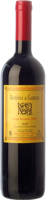 79,95 € Free Shipping   Red wine Remírez de Ganuza Gran Reserva 2010 D.O.Ca. Rioja The Rioja Spain Tempranillo, Graciano Bottle 75 cl