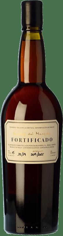 89,95 € Free Shipping | Fortified wine Soagranorte Suertes del Marqués Fortificado D.O. Valle de la Orotava Canary Islands Spain Listán White Bottle 75 cl