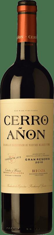 19,95 € Free Shipping | Red wine Olarra Cerro Añón Gran Reserva D.O.Ca. Rioja The Rioja Spain Tempranillo, Grenache, Graciano, Mazuelo Bottle 75 cl
