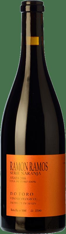 11,95 € Free Shipping | Red wine Ramón Ramos Serie Naranja Tinto Roble D.O. Toro Castilla y León Spain Tinta de Toro Bottle 75 cl