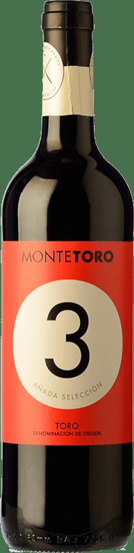 5,95 € Free Shipping | Red wine Ramón Ramos Monte Toro 3 Añada Selección Joven D.O. Toro Castilla y León Spain Tinta de Toro Bottle 75 cl