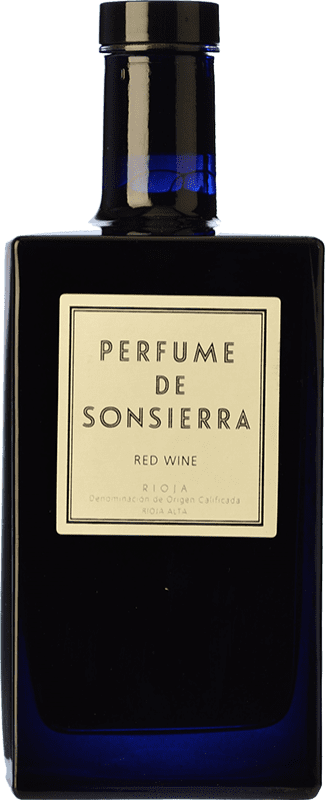 25,95 € Free Shipping | Red wine Sonsierra Perfume Crianza D.O.Ca. Rioja The Rioja Spain Tempranillo Bottle 75 cl