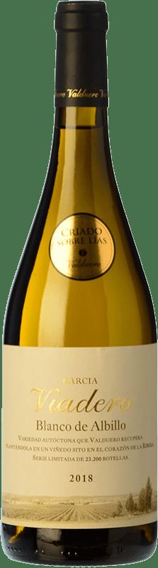 14,95 € Free Shipping   White wine Valduero García Viadero Crianza I.G.P. Vino de la Tierra de Castilla y León Castilla y León Spain Albillo Bottle 75 cl