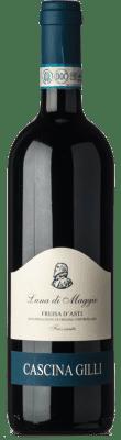 11,95 € Free Shipping   Red sparkling Gilli Frizzante Luna di Maggio D.O.C. Freisa d'Asti Piemonte Italy Freisa Bottle 75 cl