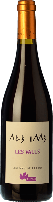 13,95 € Free Shipping | Red wine Ficaria Les Valls Tinto Roble Spain Grenache Bottle 75 cl