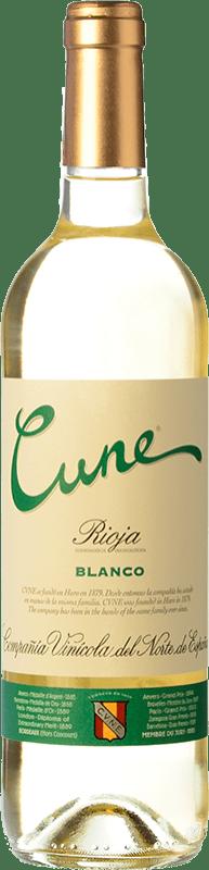 5,95 € Free Shipping | White wine Norte de España - CVNE Cune Blanco D.O.Ca. Rioja The Rioja Spain Viura Bottle 75 cl
