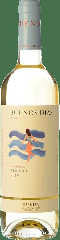 5,95 € Free Shipping | White wine Norte de España - CVNE Buenos días by CVNE D.O. Rueda Castilla y León Spain Verdejo Bottle 75 cl