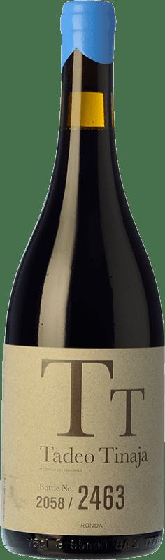 67,95 € Free Shipping   Red wine Los Aguilares Tadeo Tinaja Crianza D.O. Sierras de Málaga Andalusia Spain Petit Verdot Bottle 75 cl