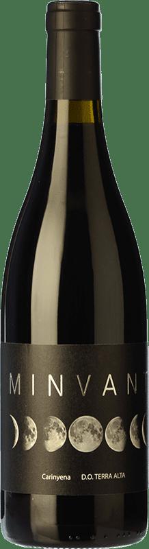 14,95 € Free Shipping | Red wine Edetària Minvant Joven D.O. Terra Alta Catalonia Spain Carignan Bottle 75 cl