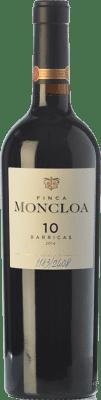 32,95 € Free Shipping   Red wine Finca Moncloa 10 Barricas Crianza I.G.P. Vino de la Tierra de Cádiz Andalusia Spain Syrah, Cabernet Sauvignon, Tintilla de Rota Bottle 75 cl