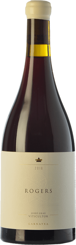 36,95 € Free Shipping | Red wine Josep Grau Rogers Crianza D.O. Montsant Catalonia Spain Grenache Bottle 75 cl