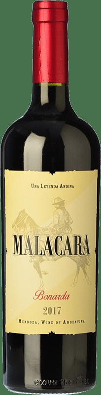 12,95 € Free Shipping | Red wine Kauzo Malacara Joven I.G. Valle de Uco Uco Valley Argentina Bonarda Bottle 75 cl